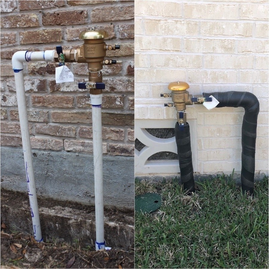 Lawn Sprinkler PVB Houston Katy