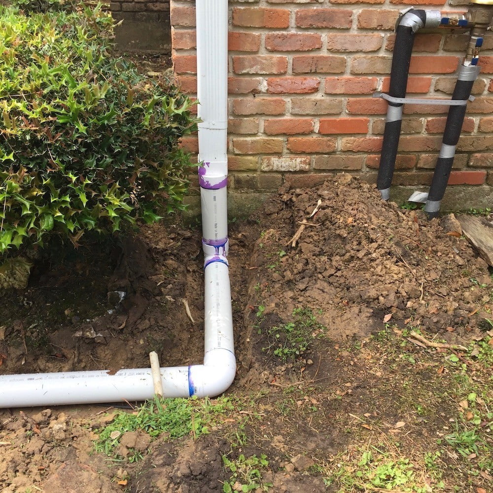 downspout drainage diverters houston