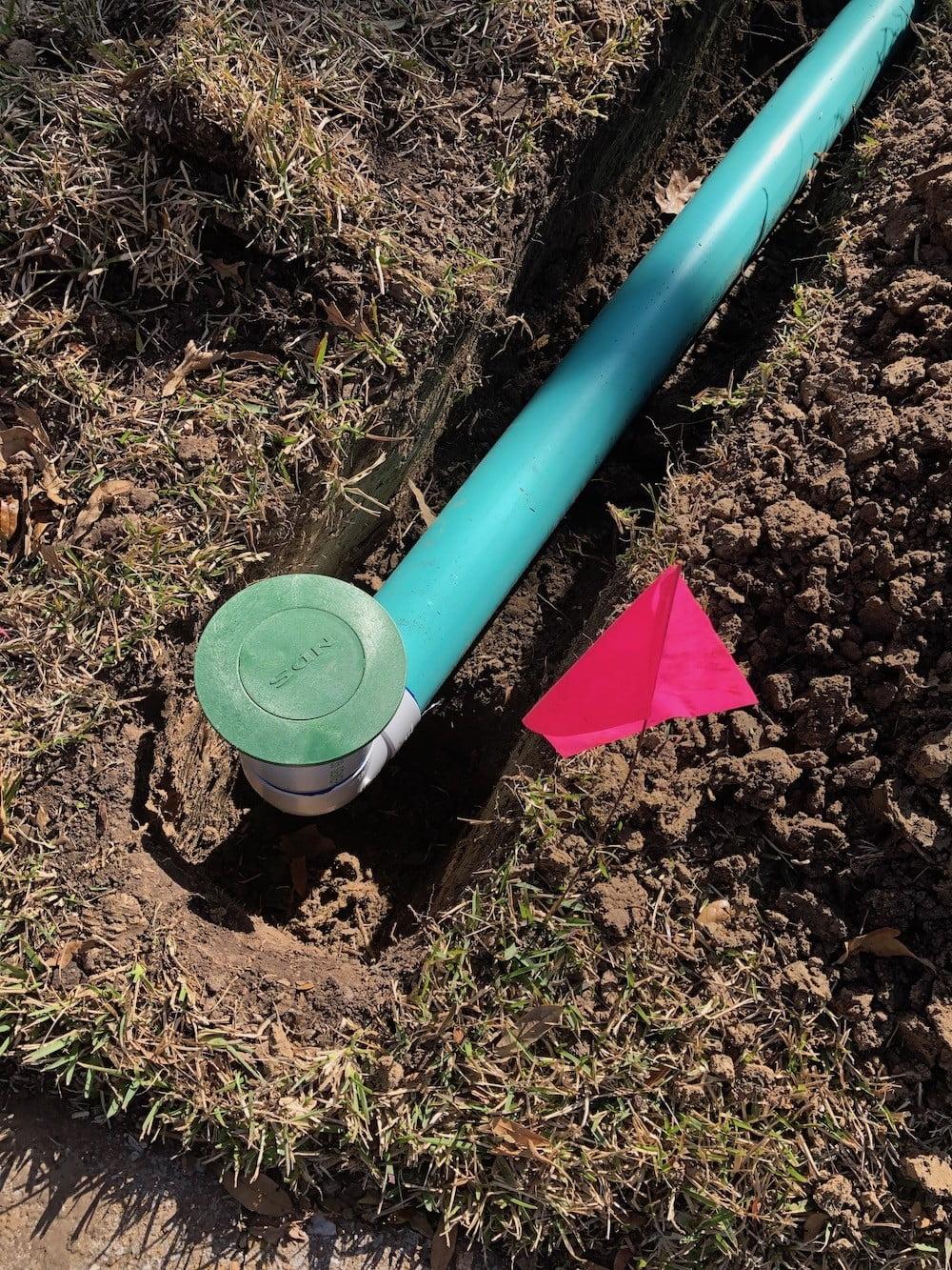 landscape drainage pop-up emitter houston texas