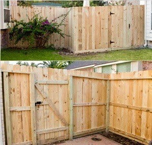 Houston Landscape Pros Wood Privacy Fence