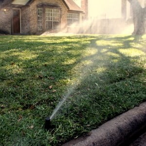 lawn sprinkler installation houston