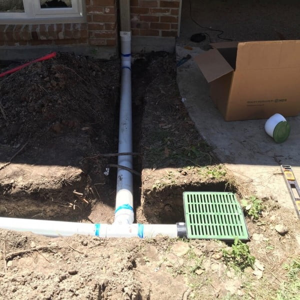 catch basin drain system houston