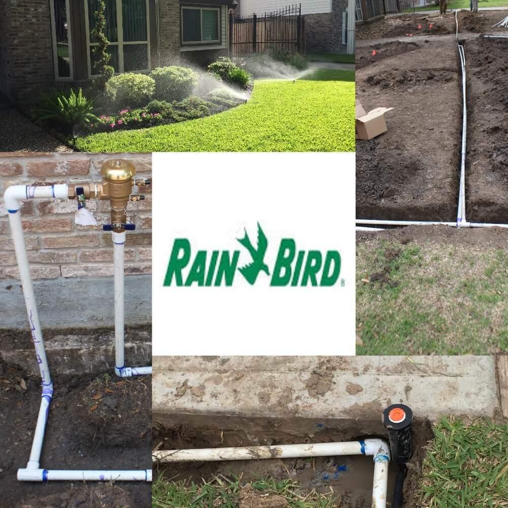 lawn sprinkler system installation