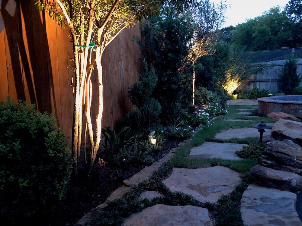 outdoor landscape lighting 77024