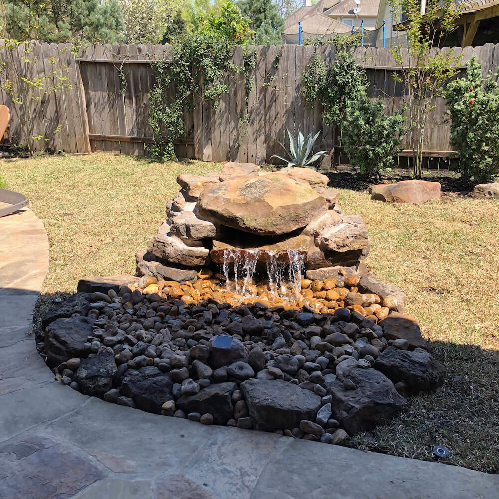 poundless waterfall fountain 77459