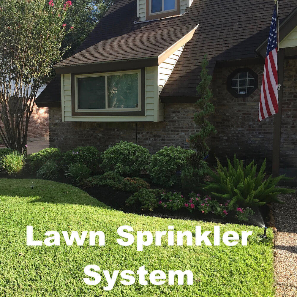 lawn sprinkler system gallery houston