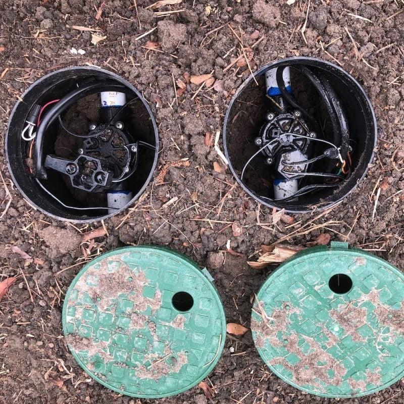 lawn sprinkler valve katy tx