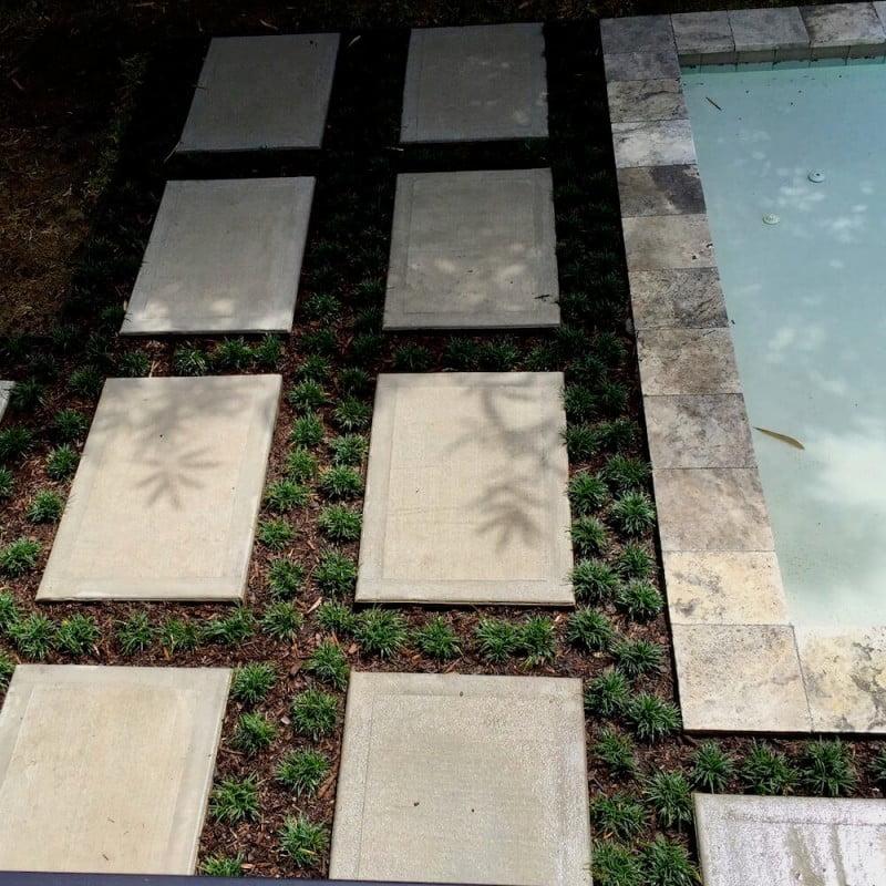 concrete pavers 77401