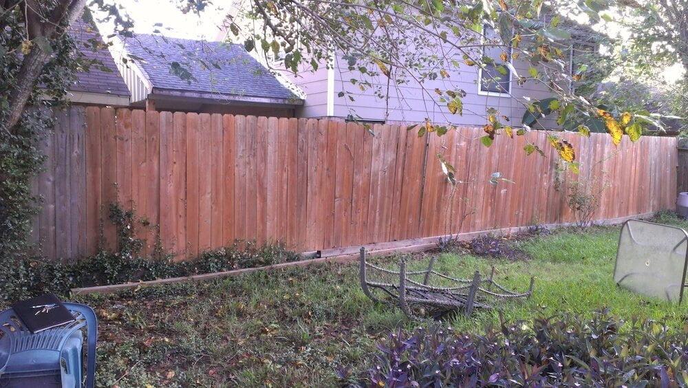 fence before houston landscape pros 77024