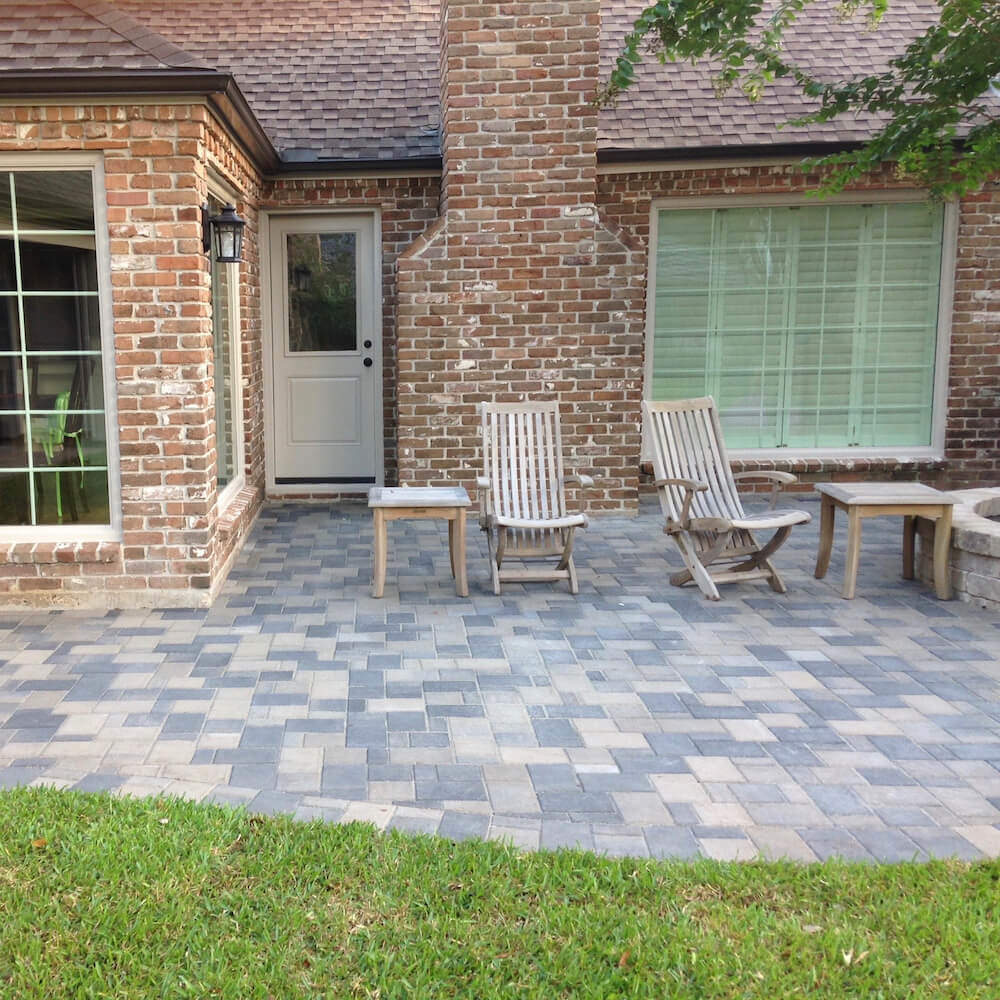 landscaping patio pavers houston