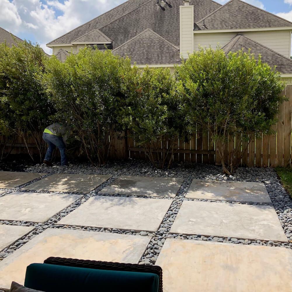 patio pavers concrete katy tx