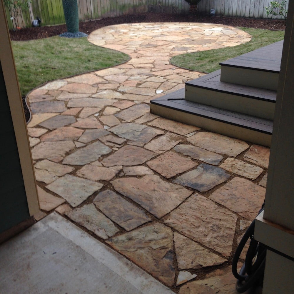 pavers patio design 77009