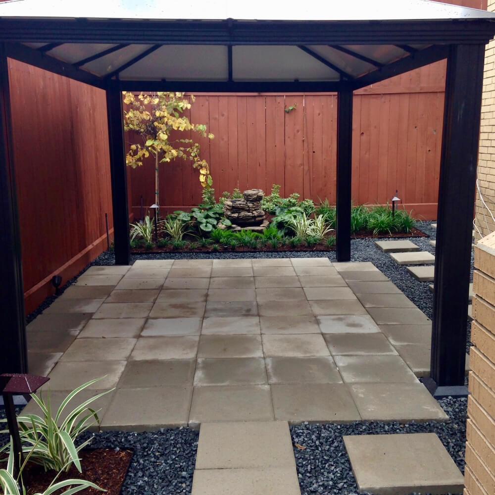 steping stone pavers patio 77063