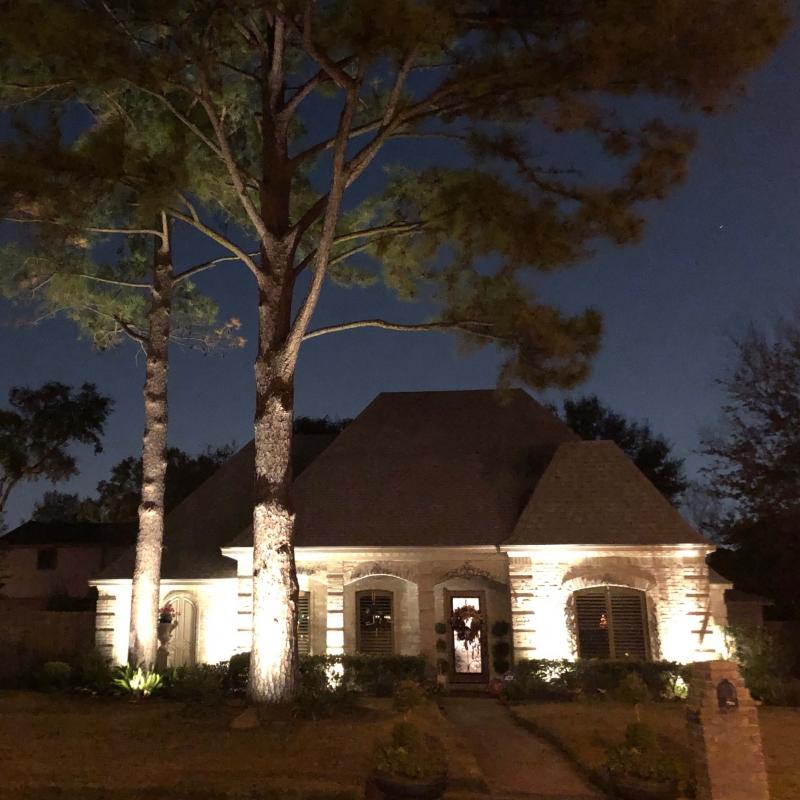 front-yaroutdoor landscaping lighting ideas afterh houston tx