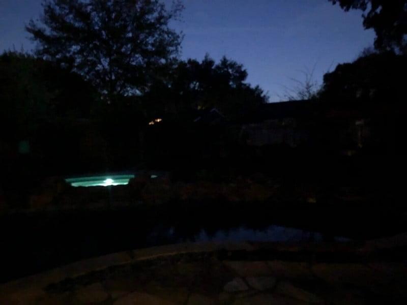 landscaping lighting backyard before houston 77063
