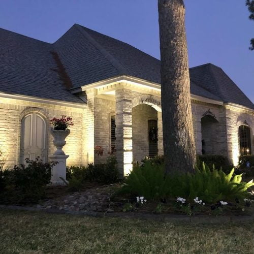 outdoor landscaping lighting ideas bellaire tx