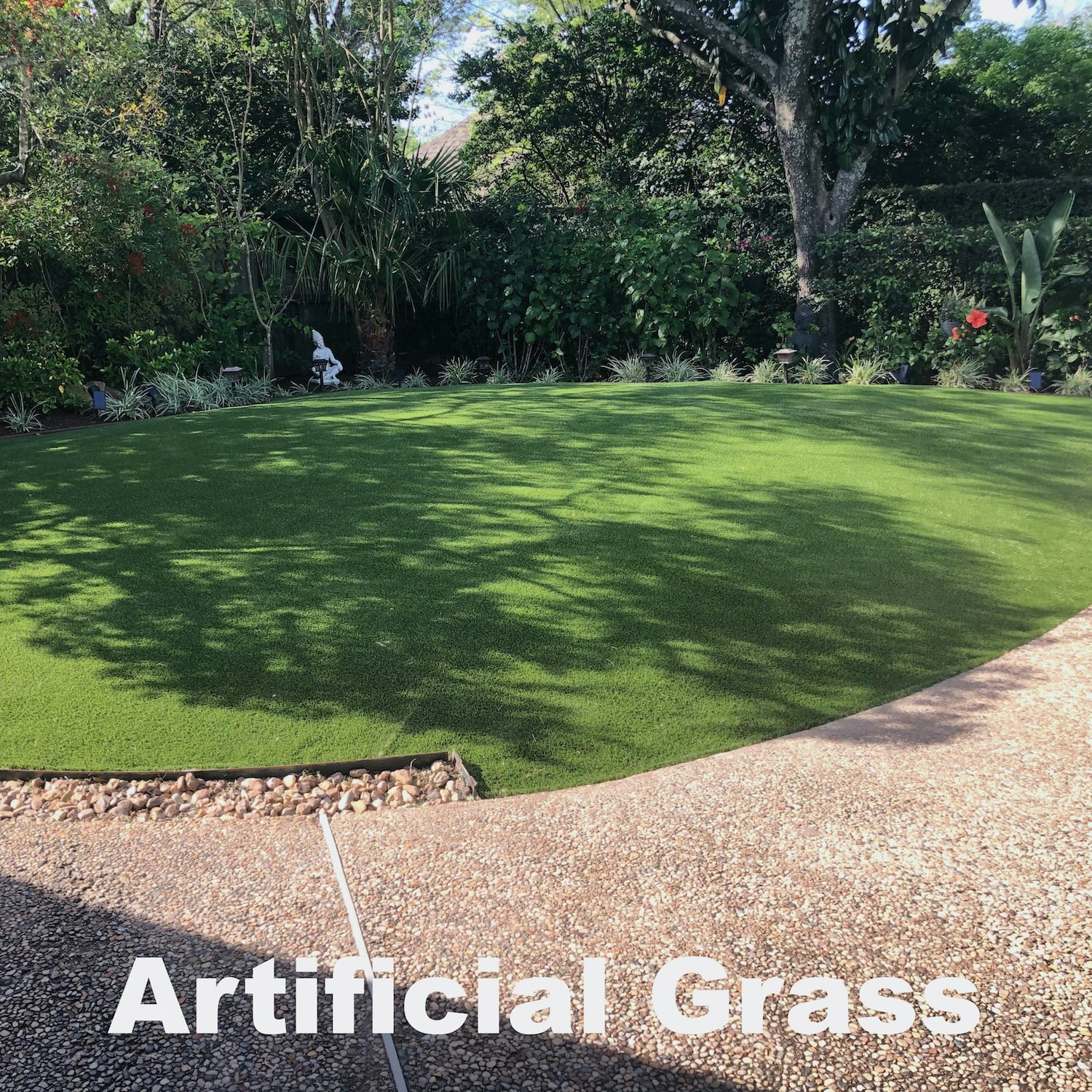 artificial grass installation bakyard houston landscape pros