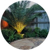 landscape outdoor lighting houston tx