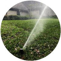 lawn sprinkler system houston 77042