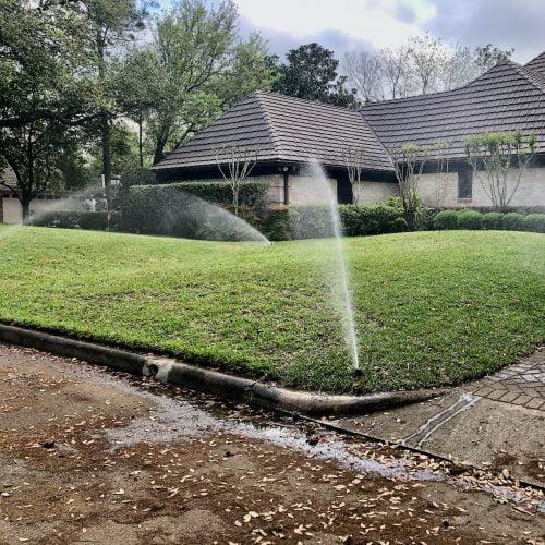 Lawn Sprinkler System Installations