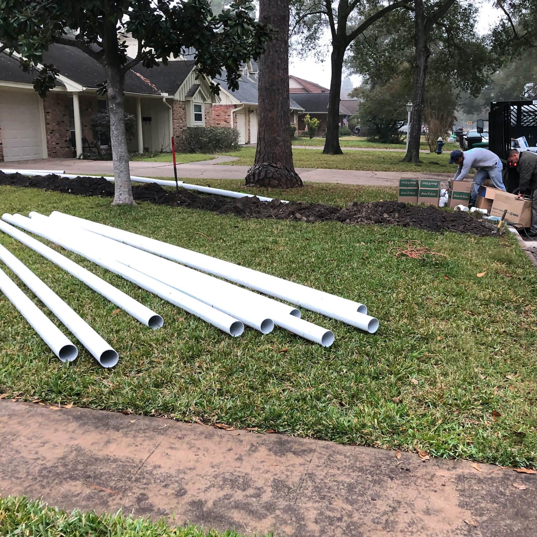 landscape drainage pvc sdr 35 pipe