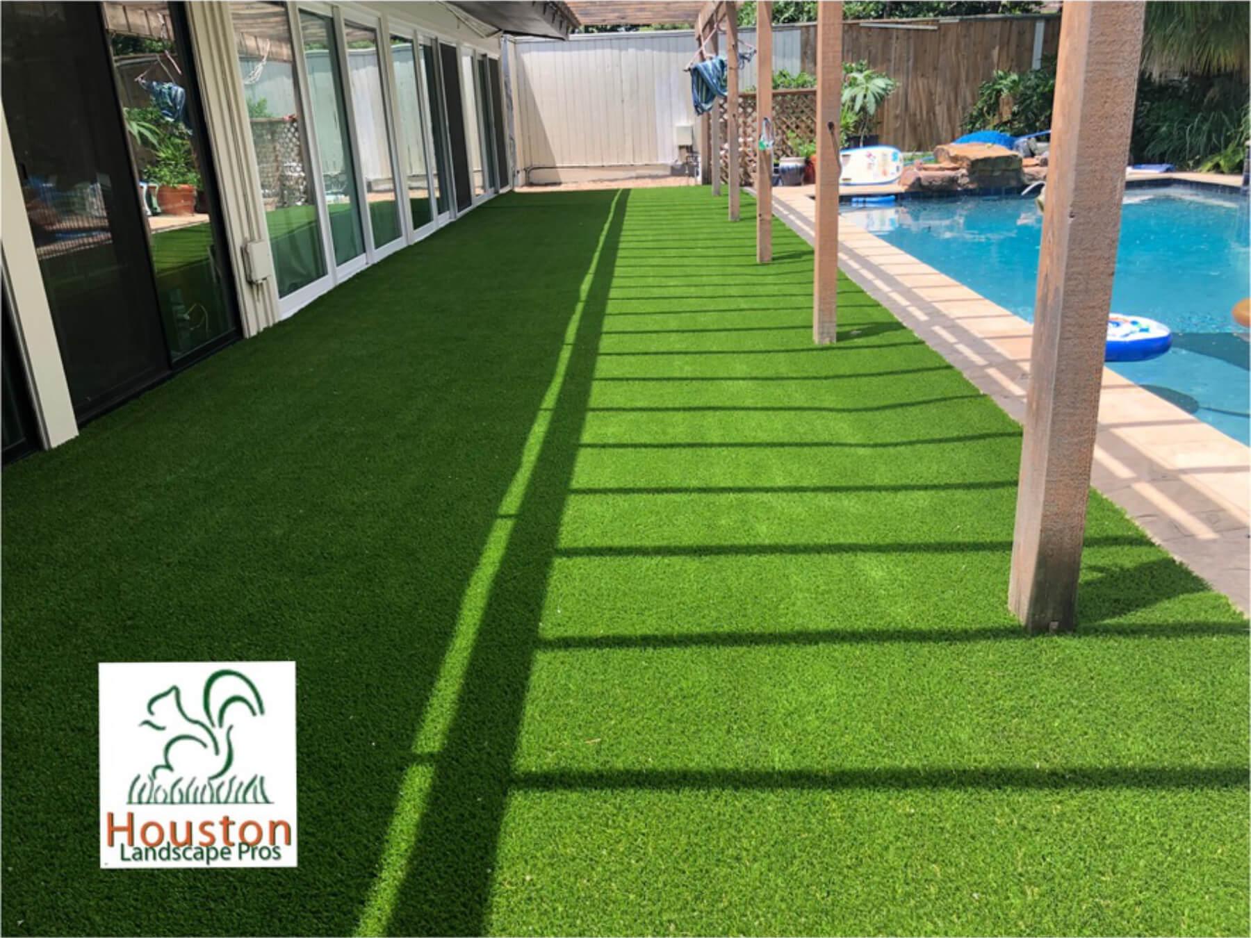 Artificial Grass landscape install