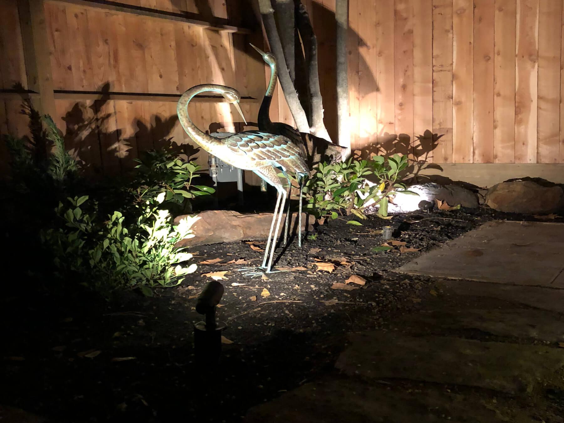 small outdoor lighting kit houston